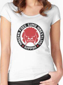 Nagoya Foos Sumo Wrestling Women's Fitted Scoop T-Shirt