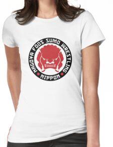 Nagoya Foos Sumo Wrestling Womens Fitted T-Shirt