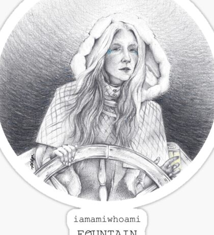 iamamiwhoami fountain Sticker