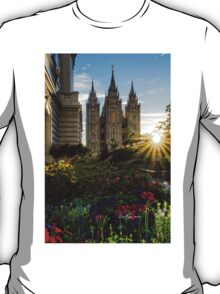Starburst SLC LDS Temple T-Shirt