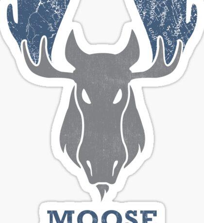 Shiras Moose - Alces Shiras Sticker