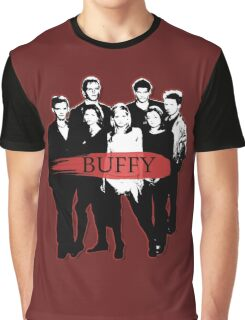 BTVS CAST (S3): The Scoobies! Graphic T-Shirt