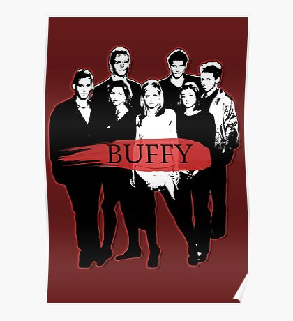 BTVS CAST (S3): The Scoobies! Poster
