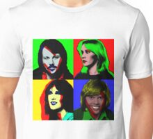 ABBA and Warhol Unisex T-Shirt