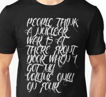Haunted bumps shirt best in color! :) Unisex T-Shirt