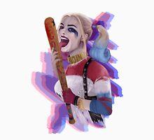 Harley Quinn Teases! | White Unisex T-Shirt