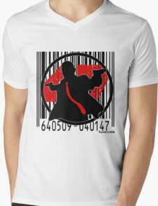 47 Code Mens V-Neck T-Shirt