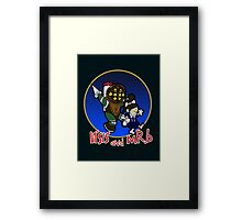 Across the Sea Mr.B Framed Print