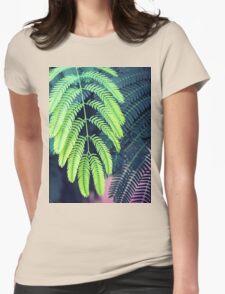 Green garden 3 Womens Fitted T-Shirt