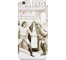 Performing Arts Posters Carl A Haswin and his company in A lions heart 1292 iPhone Case/Skin