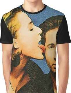 Gillian licks David's face Graphic T-Shirt