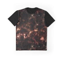 Neon Flames Graphic T-Shirt
