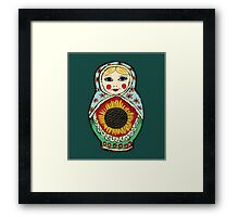 Matrioshka Framed Print