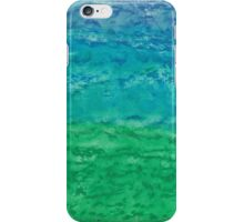 Horizon et vent bleu iPhone Case/Skin