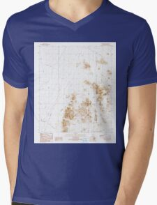 USGS TOPO Map Arizona AZ Stone Cabin 313559 1990 24000 Mens V-Neck T-Shirt