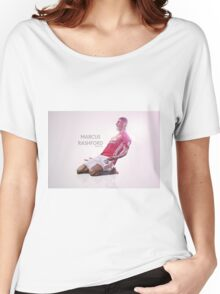 Marcus Rashford Manchester United Women's Relaxed Fit T-Shirt