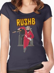 Rush B T-Shirt Women's Fitted Scoop T-Shirt