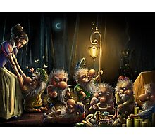 The Seven Deadly Sins - Snow White and the Seven Dwarfs Photographic Print