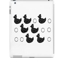 Egg hen egg iPad Case/Skin