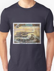 Performing Arts Posters Imre Kiralfys realistic production of ancient and modern Venice at Olympia 1530 Unisex T-Shirt