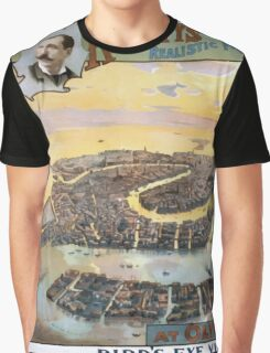 Performing Arts Posters Imre Kiralfys realistic production of ancient and modern Venice at Olympia 1530 Graphic T-Shirt