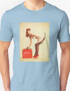 pin up nuka cola Unisex T-Shirt