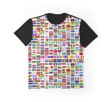International and minority communities flags Graphic T-Shirt
