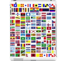 International and minority communities flags iPad Case/Skin