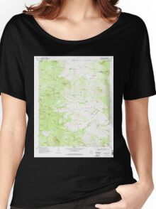 USGS TOPO Map Arizona AZ Jaycox Mtn 311913 1970 24000 Women's Relaxed Fit T-Shirt