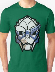 Garrus Vakarian - Flat Unisex T-Shirt