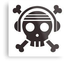 One Piece Podcast - Minimalist Logo Metal Print