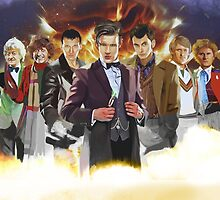 Doctor Who by littlemushy