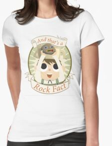 Rock Fact Womens Fitted T-Shirt
