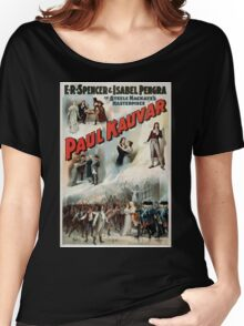 Performing Arts Posters ER Spencer Isabel Pengra in Steele MacKayes masterpiece Paul Kauvar 1138 Women's Relaxed Fit T-Shirt