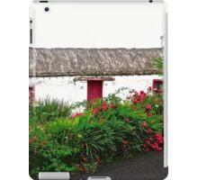 Abandoned Cottage, Inishowen Peninsular, Donegal, Ireland iPad Case/Skin