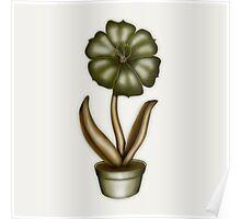 Flower & Pot I Poster