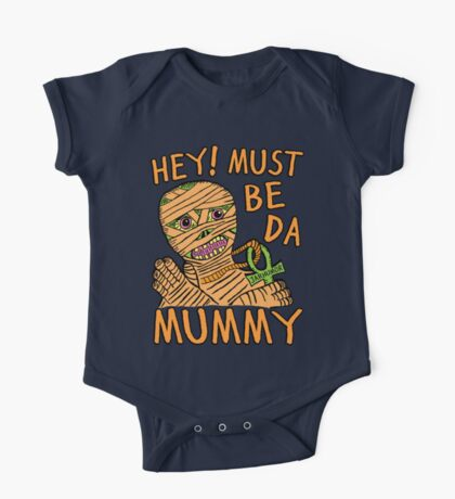 Da Mummy One Piece - Short Sleeve
