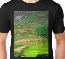 Sunlit Field - Inishowen Peninsular, Donegal, Ireland Unisex T-Shirt