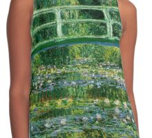 Water lilies, Claude Monet,beautiful vintage impressionist art Contrast Tank