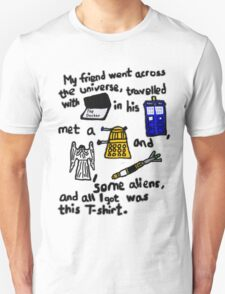 Tourist Doctor Who Tee 2 T-Shirt