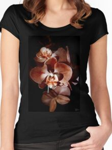 Orange Orchid Women's Fitted Scoop T-Shirt