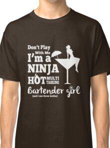 Hot Bartender Girl Classic T-Shirt