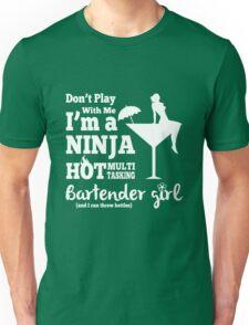 Hot Bartender Girl Unisex T-Shirt