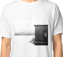 Stone Building in CP Reservoir Classic T-Shirt
