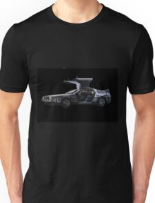 Back to the future Delorian car Unisex T-Shirt