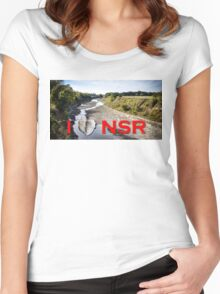 I heart NSR Women's Fitted Scoop T-Shirt