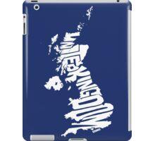 United Kingdom White iPad Case/Skin