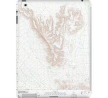 USGS TOPO Map Arizona AZ Childs Mountain 20111125 TM iPad Case/Skin