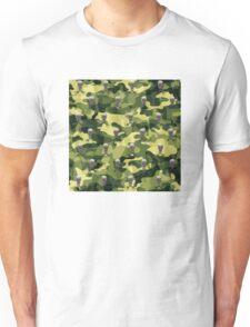 Military Camouflage Background Unisex T-Shirt