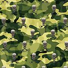 Military Camouflage Background by E ROS